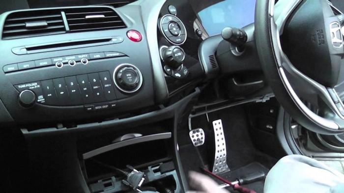Honda Civic панель приборов