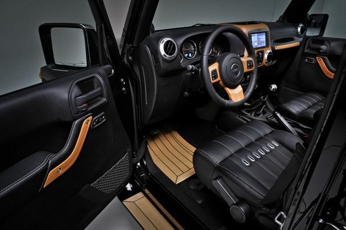 Jeep Wrangler салон