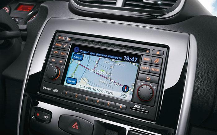 Nissan Terrano мультимедийная система и навигатор