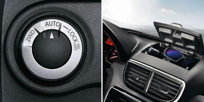 Nissan Terrano передняя панель