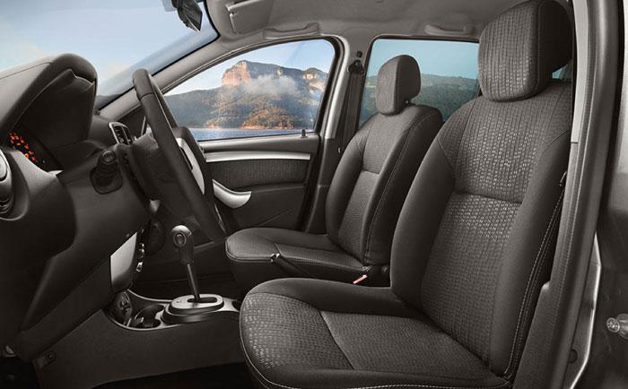 Nissan Terrano салон, передний ряд сидений
