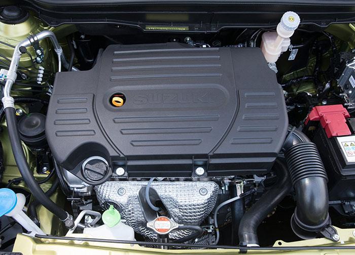 Suzuki SX4 S-cross 2014 двигатель
