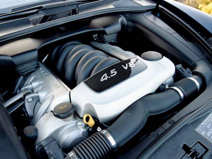 Двигатель Porshe Cayenne S